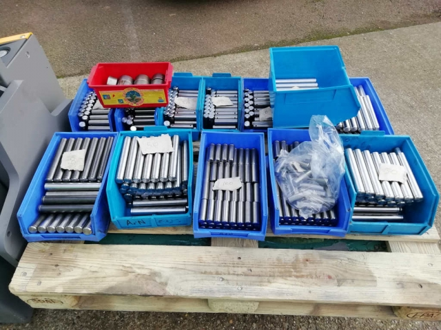 Misc pins ready for electroplaters
